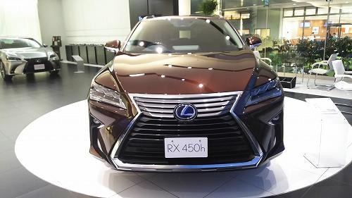 20160124_RX450h_展示車