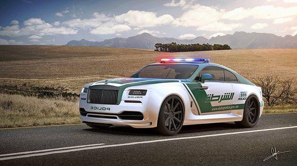 ドバイ警察がロールスロイス「レイス」を警察車両に?予想レンダリング画像も公開に