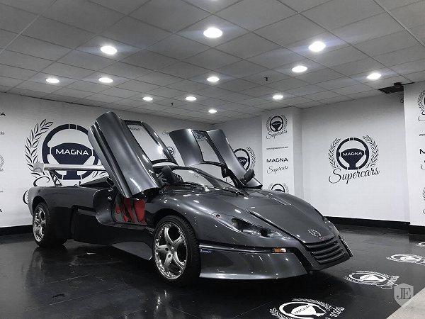メルセデスベンツ「CLK GTR」モチーフのワンオフモデル。内外装共に ...