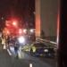 これまさか…首都高・四つ木付近にて、諸星伸一氏のランボルギーニ「アヴェンタドールLP720-4 50°アニヴェルサリオ」が大破事故