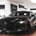 """ちょっと待て…""""ジェットブラックマイカ""""カラーのマツダ・新型「アクセラ/マツダ3(Mazda3)」が想像以上にカッコ良過ぎた件"""