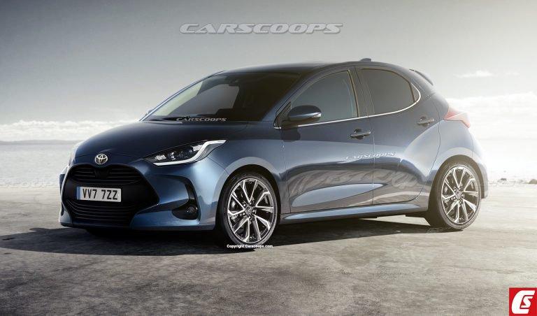 これが2020年モデルのトヨタ・新型「ヴィッツ(海外名:ヤリス