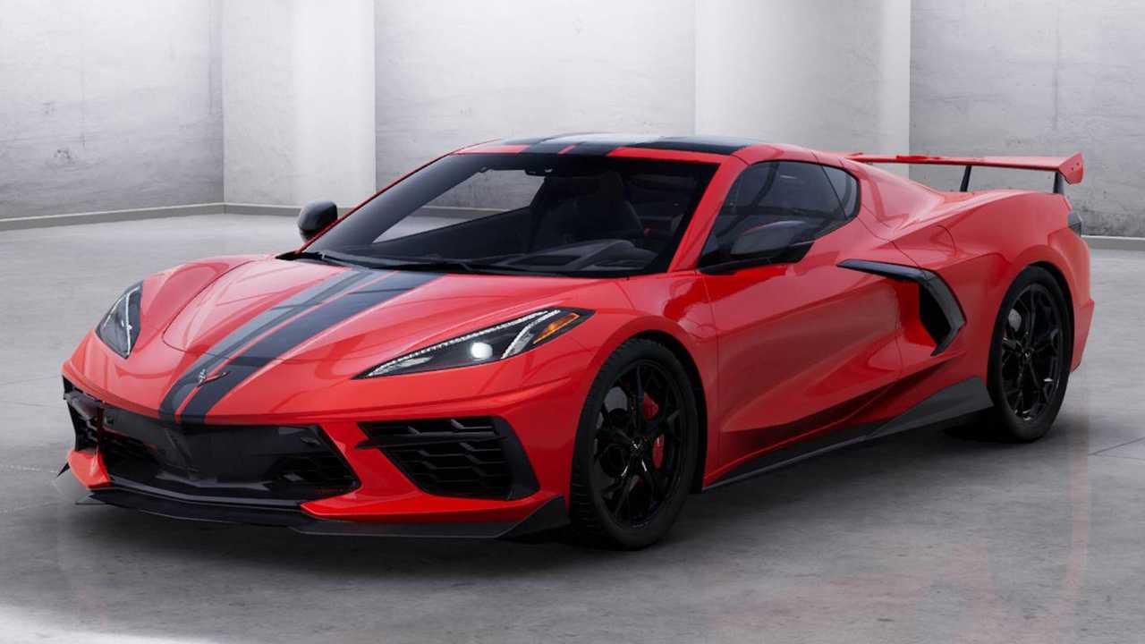 2020年モデル・シボレー新型「コルベットc8」の詳細オプション価格も公開!ボディカラーは12色、カーボン仕上げの