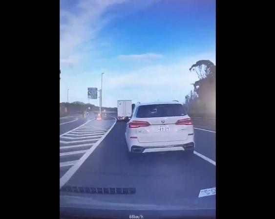 あおり 運転 試乗 車