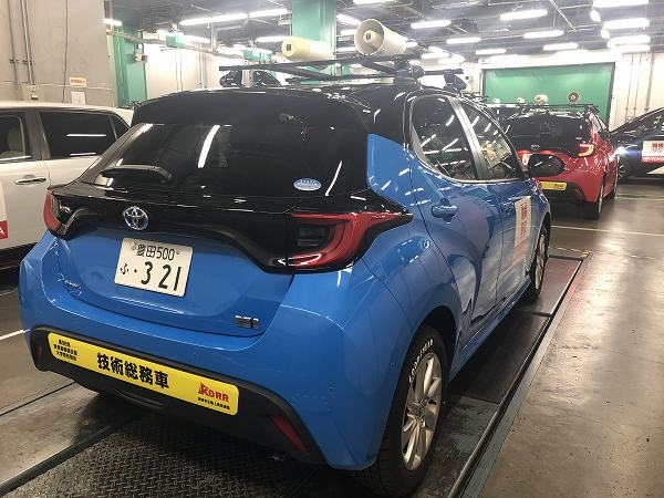2020年の箱根駅伝にはトヨタ新型「ヤリス/グランエース」が広報