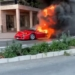 これマジか…モナコにて貴重なフェラーリ「F40」が大炎上。実は過去に直管仕様モデルとして何度か注目されたことも【動画有】