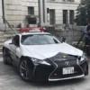 栃木県警のレクサスLC500が遂に納車&世界初公開!総額1,740万円…何とLC500を寄贈した中村氏は、前回の日産GT-R R35の警察車両も寄贈していた