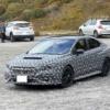 群馬県にてフルモデルチェンジ版・スバル新型WRXの開発車両が初めて目撃に!新型レヴォーグ顔でハニカムグリルとコンパクトなヘッドライトを採用か【動画有】