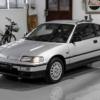 約30年間で僅か17kmしか走行していないホンダCR-Xが中古車市場に登場!内外装共に新品同様でコンディション抜群…一体どこで保管されてたんだ