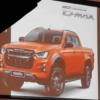 【速報】これがいすゞの2020年モデル・新型ピックアップトラック「D-MAX」だ!「スイ