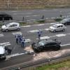 千葉県の東関東自動車道にて、ホンダ・シビック・タイプRと三菱コルトが衝突する大事