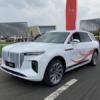 元ロールスロイスのデザイナーが開発した中国・紅旗(Hongqi)新型E-HS9が公道を走る。