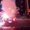"""これは酷すぎる…アメリカにてBMW・Z4に""""イタズラ""""で花火を投げつけて大爆発!BMWのド"""