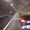 これは悪質過ぎるあおり運転…新東名高速道路にて、仕事中のトラックに対して急ブレー