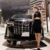 元キャバ嬢でタレントのエンリケ(小川えりさ)さんが所有するトヨタ新型アルファードが