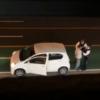 色々と突っ込みどころが…違反車両と警察官が口論→違反者が暴力を振られたとわざと倒れ