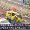 この個体は…広島県の山陽自動車道にてイエローの乗用車とトラックが衝突し2名共に死亡