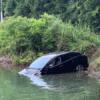 今日もプリウス…川に潜り込もうとしたり、歩道者通路帯に駐車する「プリウス」等。な