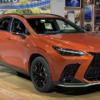 オレンジ良いやん!フルモデルチェンジ版・レクサス新型NXがシカゴモーターショー2021