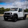 スズキ公式が公認した新型「ジムニー・シエラ」ベースのピックアップトラック(ジムト