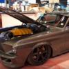 SEMAショー2018にて、1968年式・フォード「マスタング」にフェラーリ製V8エンジンを搭