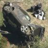 プロゴルファーのタイガー・ウッズ氏が運転していたジェネシスGV80が事故で大破。オー