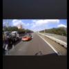 首都高・湾岸線にて、彦田嘉之 容疑者が運転するポルシェ911GT2RSとトヨタbBが大クラ