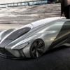 価格は「LFA」の1.5倍以上。レクサスの自律走行コンセプトモデル「KAZE(風)」が公開