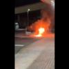 埼玉県のメガドンキホーテ北鴻巣店にて、アルファロメオ159が突如大爆発!原因は不明