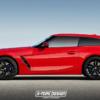 【レンダリング】BMW・新型「Z4 M40i」にシューティングブレークモデルが登場したら?