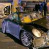 トルコにて、ポルシェ「911」が公道を逆走してパトカーとクラッシュ→人生終わった