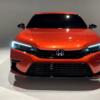 フルモデルチェンジ版・ホンダ新型シビック・プロトタイプの実車をインプレッション!