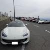 芦有(ろゆう)ドライブウェイに行ってきたPart4。これが日曜早朝の風景、スーパーカー
