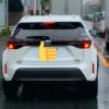 トヨタ新型ヤリス・クロスのテストカーが目撃に!ブレーキランプやリヤウィンカーはこ