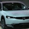 【速報】マツダ新型EV「MX-30」が世界初公開!「RX-8」と同じ観音開きを採用、マツダ