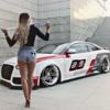 ポーランド・チューナが、アウディ「S5」ベースのDTM&スタンスの「SR66デザイン」風