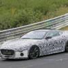 2021年モデル・ジャガー新型「Fタイプクーペ/コンバーチブル」の開発車両が一挙に登