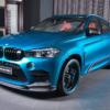 BMWアブダビが「X6M」専用パフォーマンスキットを公開。カーボンをふんだんに多用