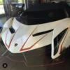 これは一体?フロリダにて、特殊なデザインのランボルギーニ「ヴェネーノ・ロードスタ