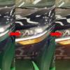 レクサス新型「LM300h」のフロント・リヤウィンカーを完全公開!やっぱり点滅ではなく