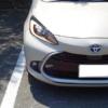 【インテリア編】フルモデルチェンジ版・トヨタ新型アクアを見てきた!後席の広さは新