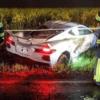 フルモデルチェンジ版・シボレー新型コルベットC8が納車されて僅か数日後に大事故。オ
