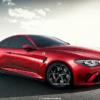 アルファロメオ・新型「GTV」のプレゼンテーション画像がリーク。2ドアクーペスタイル