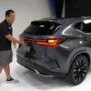 フルモデルチェンジ版・レクサス新型NXのフロント・リヤウィンカーの点滅場所はどこ?