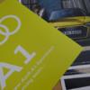 10月に発売予定となるフルモデルチェンジ版・アウディ新型「A1」の簡易パンフレットを