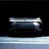 2021年4月19日に世界初公開されるトヨタの新世代ピュアEVは新型BZ4Xとの報道。上海MS2