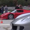 もはや異次元の世界。スイスにて、フェラーリ「F50」やポルシェ「カレラGT/911GT1」