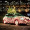 【日産よ…これじゃない】日産が電気自動車「リーフ」をベースにした全身イルミネーシ