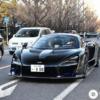 東京都内にてブラックカラーの「マクラーレン・セナ」が登場。世界限定500台のみのエ