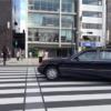 東京・青山にてメルセデスベンツ旧型「S600」がF1サウンドを奏でる?!ランボルギーニ